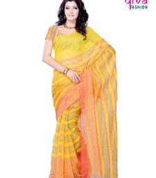 Buy Dainty Casual/Party wear fancy saree by DIVA FASHION-Surat art-silk-saree online