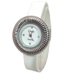 Buy Glory White Fancy Ladies Watch gifts-for-her online