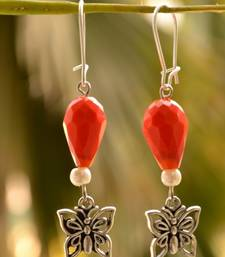 Buy Butterfly Designer Pair of Earrings danglers-drop online