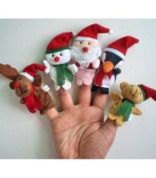 Buy Christmas gift  Santa claus puppet set  kid online