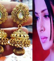 Buy Design no. 1.1629....Rs. 1850 jhumka online