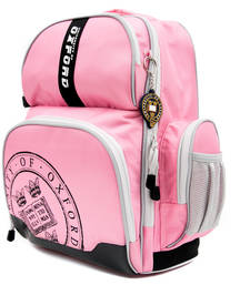 Buy Pink plain backpacks backpack online