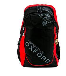 Buy Black Red plain backpacks backpack online