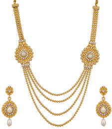 Buy Polki Design Bridal Necklace Set necklace-set online