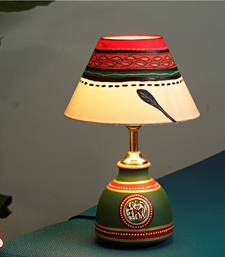 Buy Hand painted terracotta Lamp table-lamp online