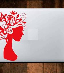 Buy Flower lady laptop decal laptop-skin online