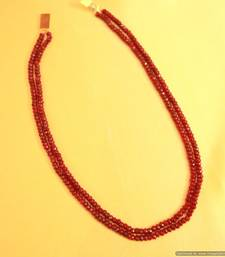 Buy Ruby Semi Precious Fine necklace Necklace online