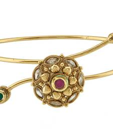 Buy Traditional Gold Plated Copper Bajuband For Women bajuband online