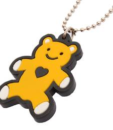 Buy Mart Smart Yellow Teddy  Chain & Pendant Neck piece For Men/Kids men-pendant online
