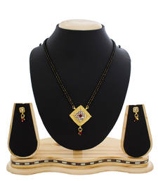 Buy Gold Plated Traditional Wear Mangalsutra mangalsutra online