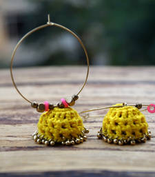 Buy cool crochet jhumki hoops hoop online