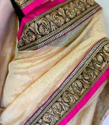 Buy GORGEOUS SAREE tussar-silk-saree online