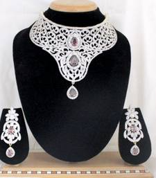 Buy American Diamond Necklace Sets  Necklace online