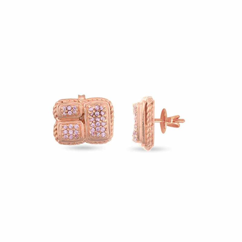 Buy Aesthetic Appeal Rose Gold Studss Online