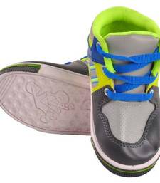 Neon multicolor kids running shoes shop online
