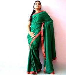 Buy Green art-silk-saree online