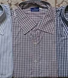 Buy  SHIRTS - MEN SHIRTS COMBO OF 3 PIECES, AVAILABLE IN 42 SIZE ONLY gifts-for-boyfriend online