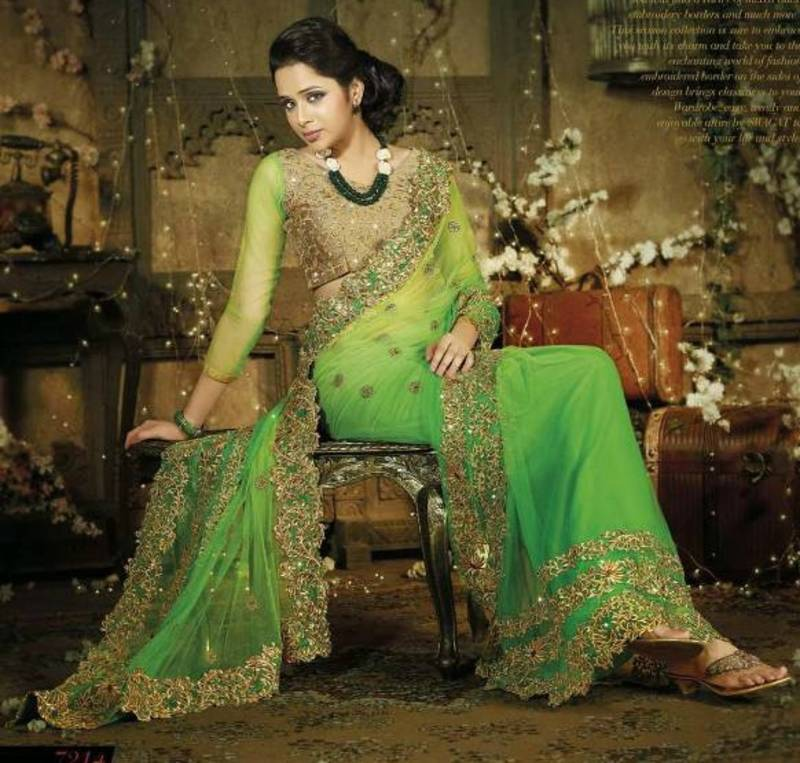 Image result for designer saree photo