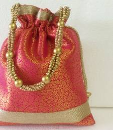 Buy Party,Mehendi,mehndi,marriage,gifting, purse, gift, Ethnic, Handmade,Indian,bag,patchwork,traditional potli-bag online