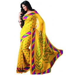 Buy multicolor printed bhagalpuri silk saree With Blouse bhagalpuri-silk-saree online