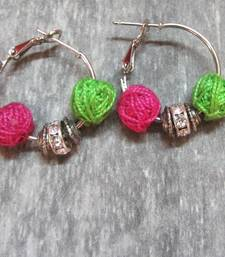 pink green color hoops shop online