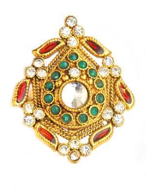 Buy Maayra Elegant Traditional Ethnic Wedding Finger Ring Online