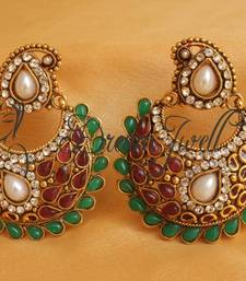 Buy BEAUTIFUL ANTIQUE BALI MANGO EARRINGS hoop online