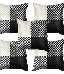 Buy Black N White Cushion Covers-Set of 5 other-home-furnishing online