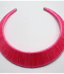 Buy Pink choker Necklace online