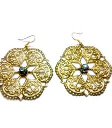 Cocktail Filigree Floral Earring For Women shop online