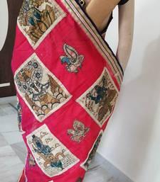 Buy PEN KALAMKARI SAREE kalamkari-saree online
