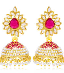 Buy Sublime Gold Plated Earring For Women jhumka online