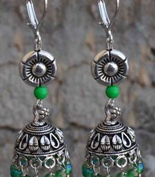 Buy green fun-  jhumka redefined gifts-for-her online