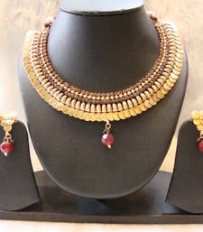 Buy Design no. 10b.3480....Rs. 2350 necklace-set online