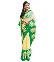 Buy Vishal Yellow Tissue Saree  TheCourtYard31517 tissue-saree online