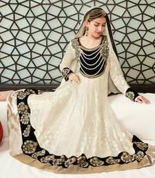 Buy Awesome Party Wear Designer Long Anarkali... anarkali-salwar-kameez online