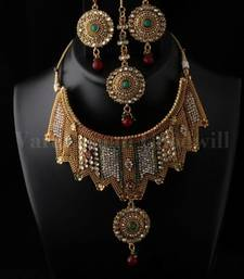 Buy designer necklace set necklace-set online