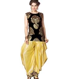 Buy indo western dhoti pant and jacket by kmozi (Black and cream) indowestern online