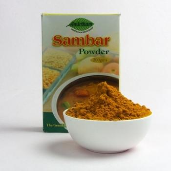 how to make sambar masala powder