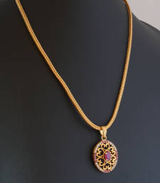 Buy Ruby necklace 1 Pendant online