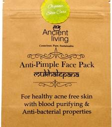Buy Ancient living anti pimple face pack - 40g (set of2) personal-cis online
