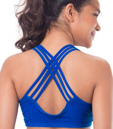 "Buy Cobalt ""Perform"" Strappy Sports Bra bra online"