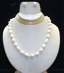 Buy natural pearl strand Necklace online