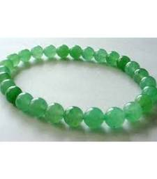 Buy Green aventurine 6mm bead bracelet heart chakra healing crystal gemstone jewellery other-gemstone online