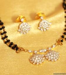 Buy Diamond Look Small pattern Mangalsutra mangalsutra online