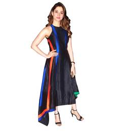Buy Blue printed georgette party-wear-kurtis party-wear-kurti online