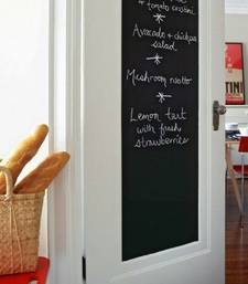 Buy Black Board with Free Chalk sticks' Wall Sticker (60 cm X 100 cm) wall-decal online