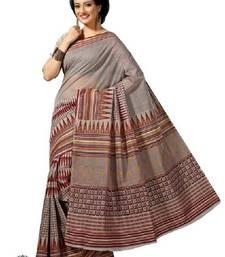 Buy Aria multicolor cotton printed saree ks329  cotton-saree online