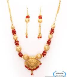 Buy Vendee One grem gold necklace set 6799 Necklace online