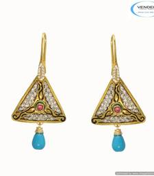 Buy Vendee Fashion diamond earring 6674 Earring online